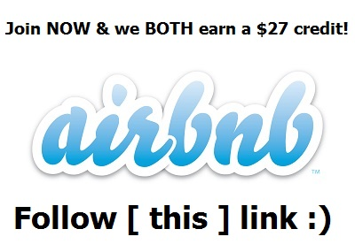AirBnB Coupon CLICK HERE AND JOIN!